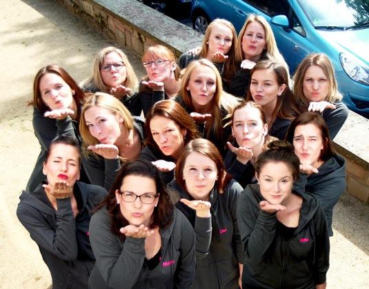 Candy Girls auf der Aftershow Party der Wilden Weiber